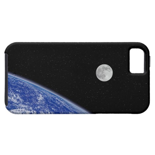Earth and Moon 2 iPhone SE/5/5s Case