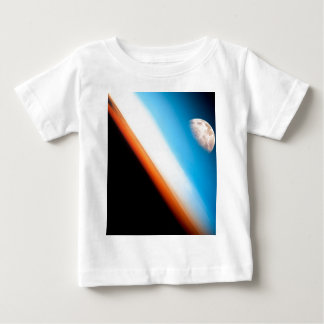 Earth and Moon Baby T-Shirt