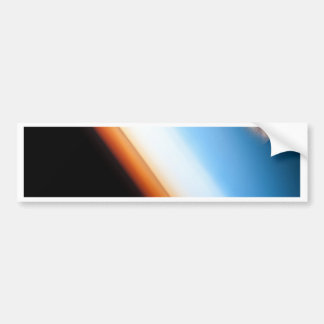 Earth and Moon Bumper Sticker
