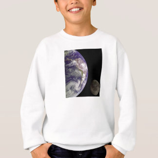 Earth and Moon by Galileo Kids Clothes Sweatshirt