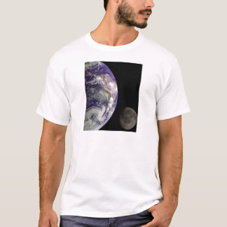 Earth and Moon by Galileo Kids Clothes T-Shirt