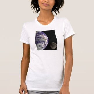 Earth and Moon by Galileo Ladies clothes Tee Shirt