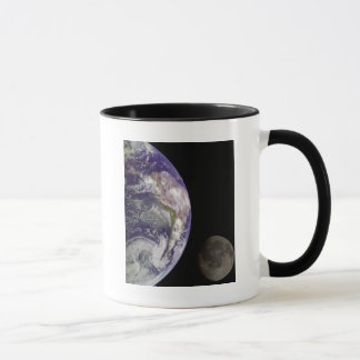 Earth and Moon by Galileo Mug