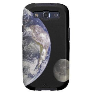 Earth and Moon Samsung Galaxy SIII Cases