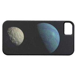 Earth and moon iPhone 5 covers