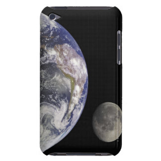 Earth and Moon Barely There iPod Cases