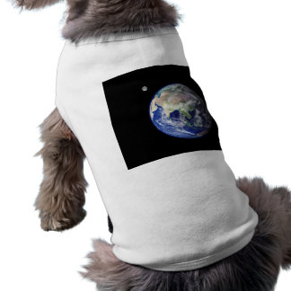 Earth and Moon from Space T-Shirt