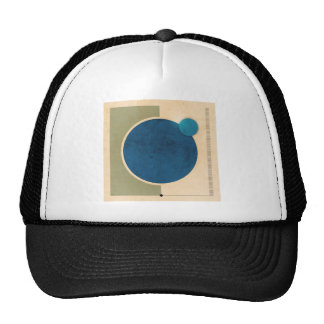Earth And Moon Graphic Trucker Hat