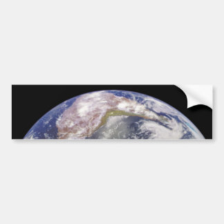 Earth and Moon in Space Bumper Stickers