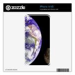 Earth and Moon iPhone 4 Skin