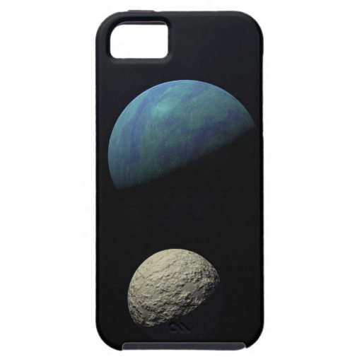 Earth and moon iPhone 5 case