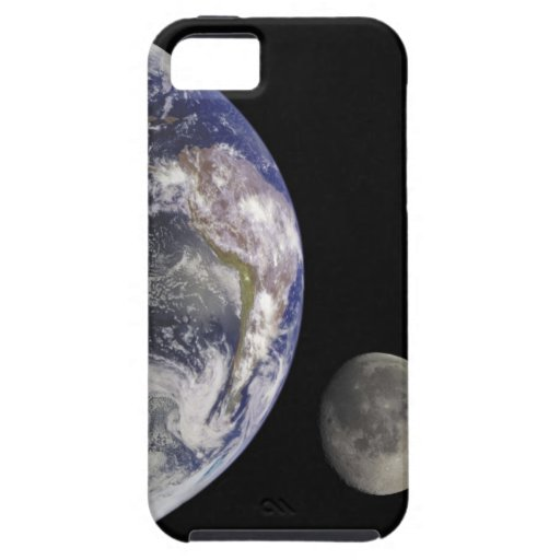 Earth and Moon iPhone 5 Cases