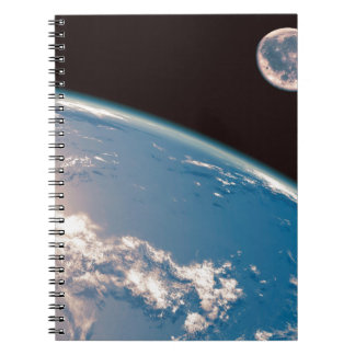 Earth and Moon Notebook