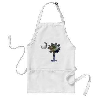 Earth and Moon Palmetto Adult Apron