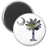 Earth and Moon Palmetto Magnets