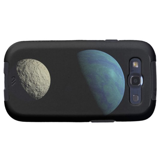 Earth and moon samsung galaxy SIII case