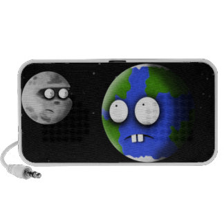 Earth and Moon iPod Speakers