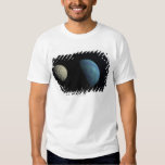 Earth and moon t-shirt