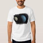 Earth and moon tee shirt