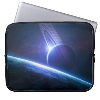 Earth and Planet Laptop Sleeve