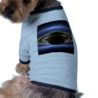 Earth and Saturn Dog Tee Shirt