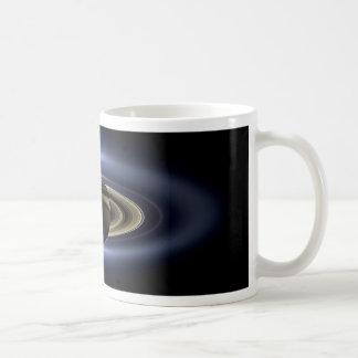 Earth and Saturn Coffee Mugs