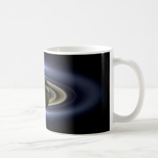 Earth and Saturn Mugs
