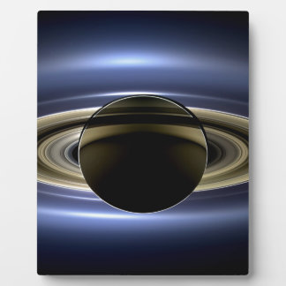 Earth and Saturn Plaque