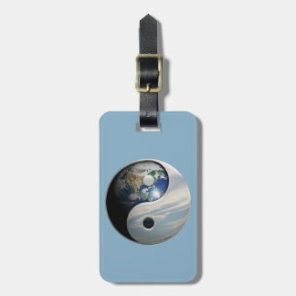 Earth and Sky Yin Yang Bag Tag