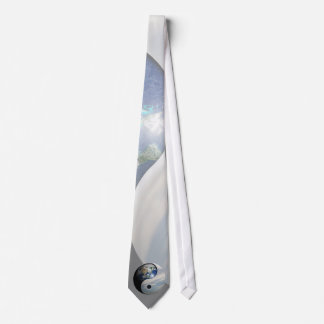 Earth and Sky Yin Yang Neck Tie