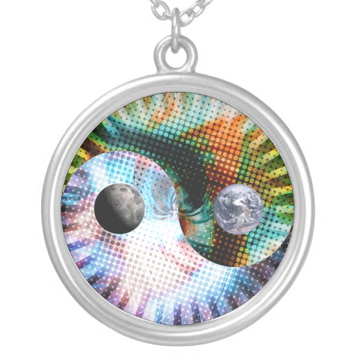 Earth And Space Necklace