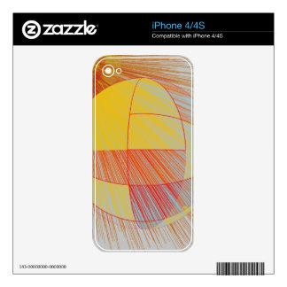 Earth and Sun iPhone Skin iPhone 4 Decal