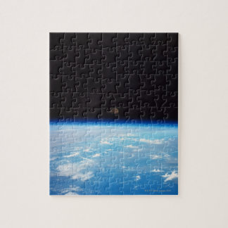 Earth and the Moon Jigsaw Puzzle