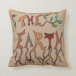 earth and wind throw pillows