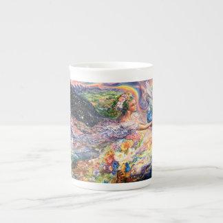 Earth Angel China Mug Tea Cup