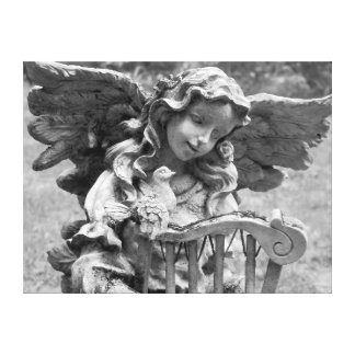 Earth Angel Feathered friends Angel Photo Canvas