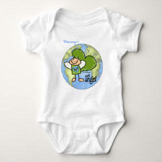 Earth Angel - Go Green Baby Bodysuit