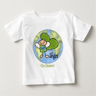 Earth Angel - Go Green Baby T-Shirt