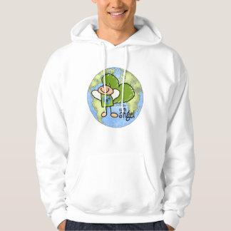 Earth Angel - Go Green Hooded Sweatshirt
