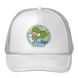 Earth Angel - Go Green Trucker Hat
