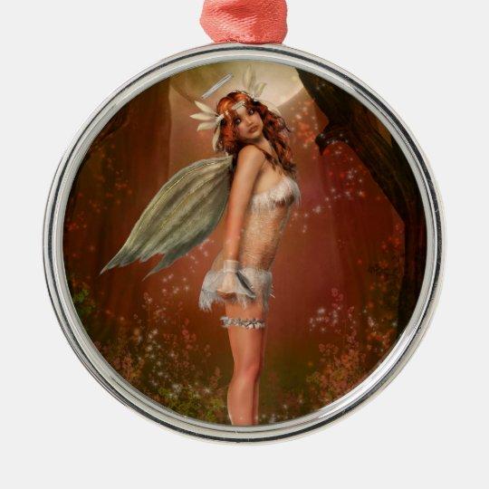 Earth Angel Metal Ornament