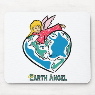 """""""Earth Angel"""" Mouse Pad"""
