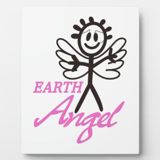 Earth Angel Plaque