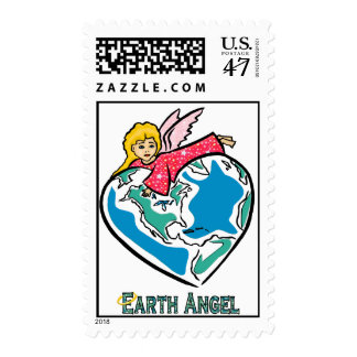 """Earth Angel"" Postage Stamp"