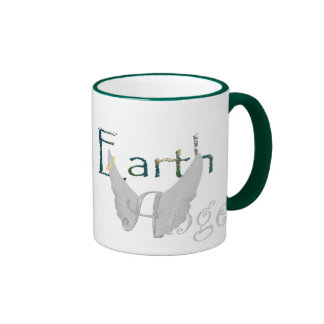 Earth Angel Ringer Coffee Mug