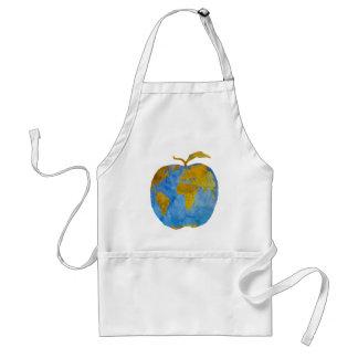 Earth Apple Adult Apron