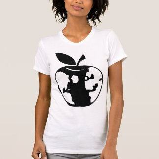 Earth Apple Black Vegan T-Shirt