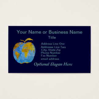Earth Apple Business Card