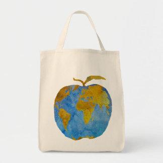 Earth Apple Tote Bag