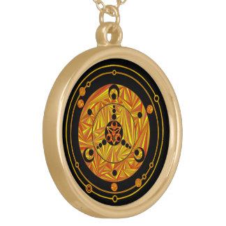 Earth Art Cool Geek Crop Circle Jewelry Charm